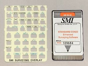 Smi Sce Surveying Card For Hp 48gx Calculator
