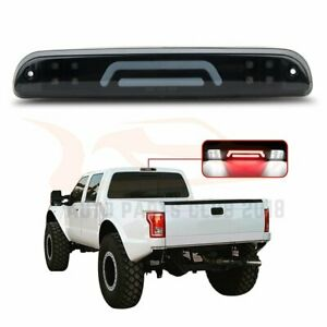 3rd Brake Tail Light Cargo Lamp Black Housing Fits 93 11 Ford Ranger Smoke Lens