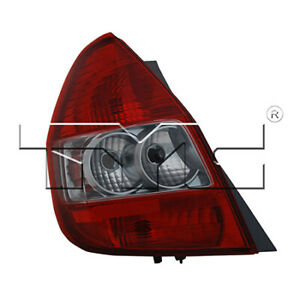 Fits 2007 2008 Honda Fit Tail Light Driver Side
