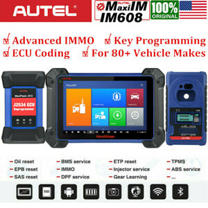 Autel Im608 Diagnostic Scan Tool All System Immo Key Programming For Locksmiths