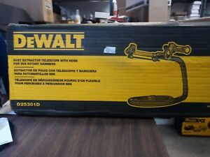 Dewalt Dust Extractor Telescope W hose For Sds Rotary Hammers Free Shipping