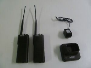 Lot Of Two Ritron Patriot Rtx 050 h 42 50 Mhz Low Band Two Way Radios W Charger