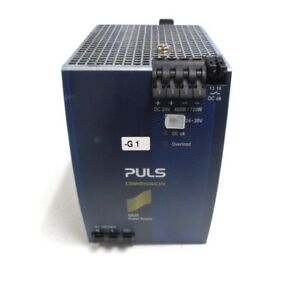 Puls Power Supply Qs20 241 480 W 1 Phase 43 To 63 Hz 20 Amps 92 3 24 Vdc