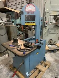Roll in Band Saw Model Ef1459 the Original Vertical Band Saw 2014 Model