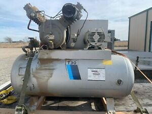 Ingersoll Rand T30 Air Compressor 2 Stage 15 Hp 3 phase 30t 71t2 Year 1984