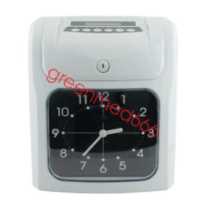 Electronic Employee Analogue Time Recorder Time Clock free Card Time Attendance
