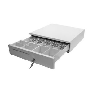 Pos Cash Register Drawer Cashbox Rj11 Interface Movable Money Coin Tray Q6a7
