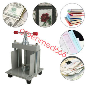 Usa Safty Manual A4 Size Paper Press Machine Flat Paper For Photo Books invoices
