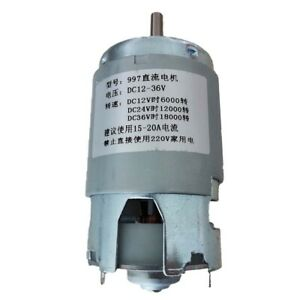 36vdc 500w Spindle Motor 18000rpm High Speed Motor With Ball Bearing 997 Motor