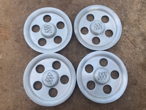 92 99 Buick Lesabre Park Avenue Oem Machine Wheel Center Caps set Of 4 b18