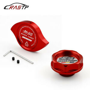 2pcs Mugen Power Oil Radiator Cap Water Cap Cover Fuel Filler Tank For Honda