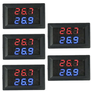 5pc Dual Display High Precision High Temperature K type Thermocouple Thermometer