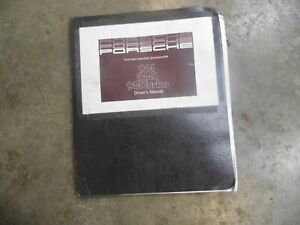 1987 Porsche 944 944s And 944 Turbo Owners Manual