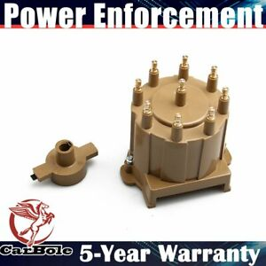 Ignition Distributor Cap Rotor Set For 1994 1995 Chevrolet Buick Gmc C1500 5 7 L