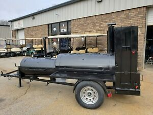 Like A Lang Competition Pitmaster Bbq Smoker 60 Grill 48 Trailer Catering Mobile