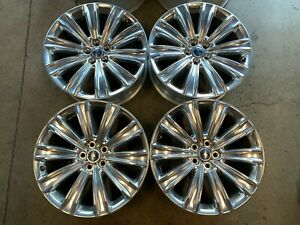 Four 2020 Ford Explorer Factory 20 Wheels Oem Lb5c1007dia Polished Rims