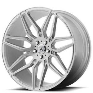 4 20 Staggered Asanti Wheels Abl 11 Sirius Brushed Silver Rims b11