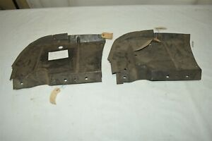 Nos Mopar 1949 Dodge Left Radiator Shield With Seal Body Panel Plate Cover