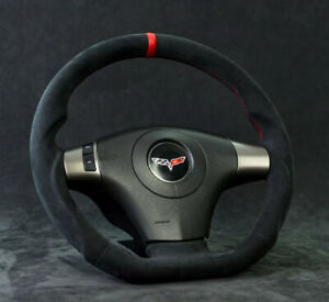 Corvette C6 Custom Steering Wheel Customized 2006 2013 Flat Bottom D Shaped Zr1