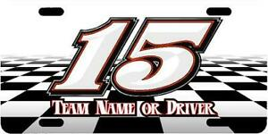 Racing Car Tags Decals Numbers Wraps Karts