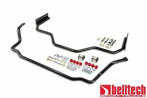 Belltech 64 67 Chevelle El Camino Malibu Sway Bar Set Front Rear
