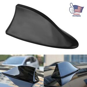 Black Universal Car Auto Roof Am Fm Radio Signal Shark Fin Style Antenna Aerial