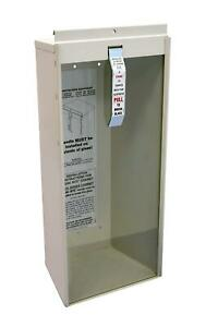 Fire Extinguisher Cabinet Kidde 468041 Surface Mount 5 pound Mounts