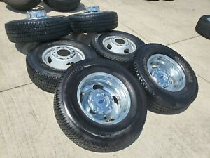 17 Ford F 350 Dually Rims Wheels Tires Oem 3615 2014 2015 2016 2017 2018 2019