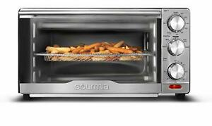 Gourmia Gtf7350 6 in 1 Multi function Stainless Steel Air Fryer Oven 6 Functions