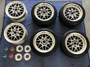 Racing Hart Type C Rare W A Ddc Outer Work Wheels 6 Pairs