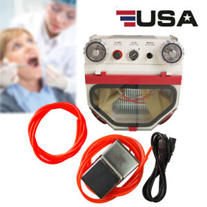 Portable Dental Lab Equipment Twin Double Pen Fine Sandblaster Equipment Fda Ce