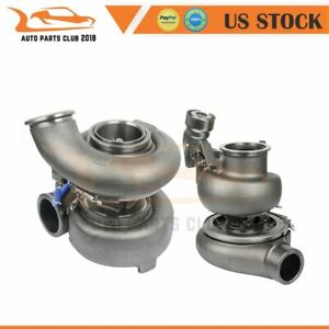 Twin Turbo Charger For 1998 2013 Caterpillar Cat C15 Acert 0232 1805 231 6616