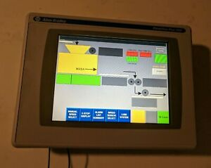 Allen Bradley 2711p t10c4d1 Panelview Plus 1000 Tested