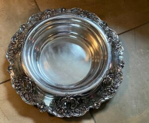 Tiffany Co Sterling Silver Large Centerpiece Bowl Wow