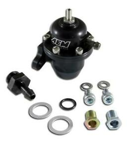 Aem Aem25 301bk For Acura Honda Black Adjustable Fuel Pressure Regulators