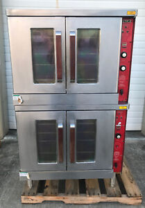 Vulcan Double Stacked Convection Oven Model Gc04s