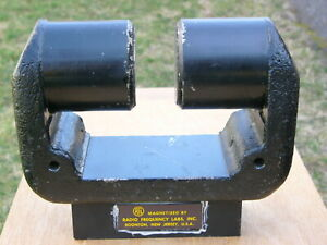 Huge Horseshoe Gap Magnet Alnico 5 Extremely Powerful 30 Lbs
