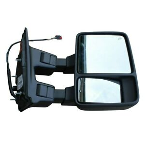 Oem Ford Super Duty Right Passenger Side Towing Mirror Power Fold Telescoping