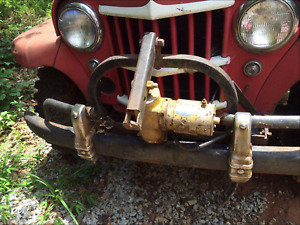 Complete 7 1 2 Meyer Oem Snow Plow Setup F Willys Jeep 4wd Truck