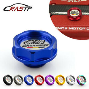Mugen Power Aluminum Oil Cap Radiator Cap Cover Fuel Filler Tank Fit For Honda