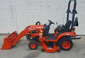 2019 Kubota Bx1880 Tractor With 54 Deck And Loader Less Than 10 Hours
