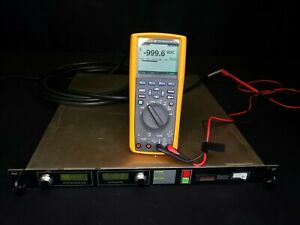 Spellman 1kv Adjustable High Voltage Current Limited Power Supply 300ma Tested