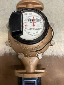 Neptune 11 2 T 10 Water Meter With Auto Detect Register And Digital Remote