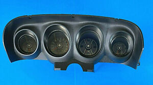 1970 Ford Mustang Complete Standard Gauge Cluster Reconditioned 70 Dash 2034