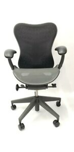 New Herman Miller Mirra 2 Home Office Chair Black Graphite Fully Loaded Lumbar