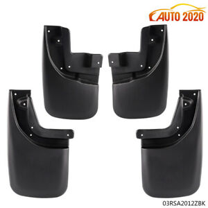 For Toyota Tacoma Mud Flaps Splash Guards 05 2015 Front Rear Molded Mudguards