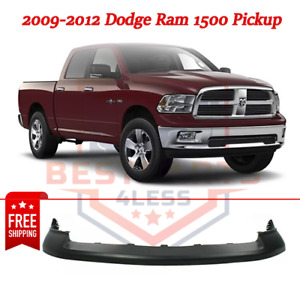 Primered Front Bumper Top Cover Pad For 2009 2012 Dodge Ram 1500 Pickup