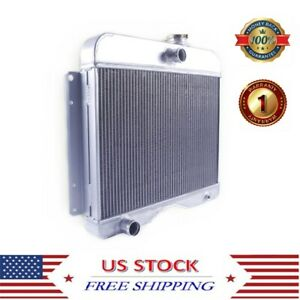 3 Row Radiator Fit 1946 1964 Jeep Station Wagon Willys Cj 3 5 6 Pickup Truck