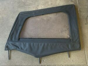 Nos Driver Side Upper Door Skin Frame For 1988 1995 Jeep Wrangler Yj Black