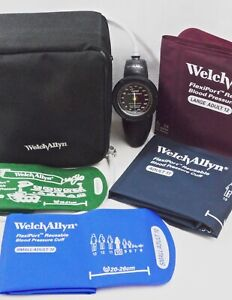 Welch Allyn Ds58 mc Sphygmomanometer Aneroid Durashock Hand Lf Multicuff Gauge
